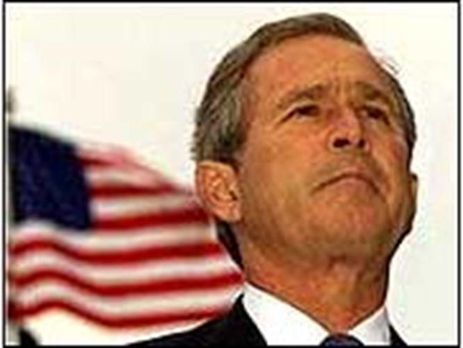 'Bush demokrasiyi tehdit ediyor'